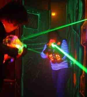 Comment faire un bon score en laser game?
