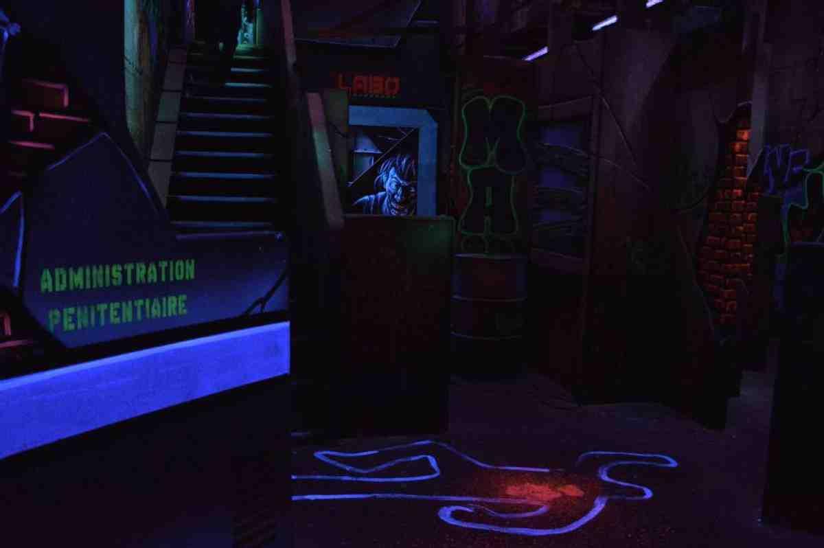 Comment fonctionne le jeu laser?