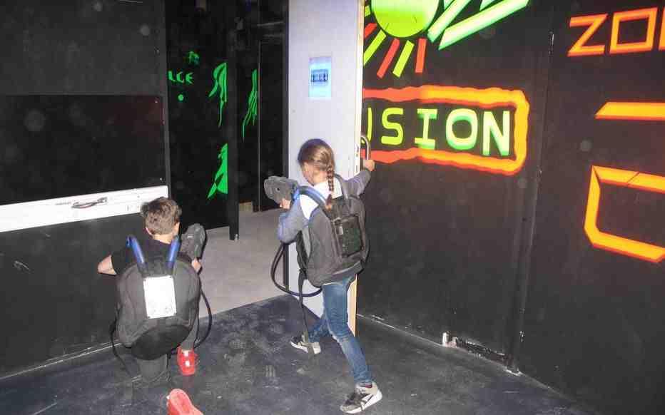 Comment fonctionne un jeu laser?