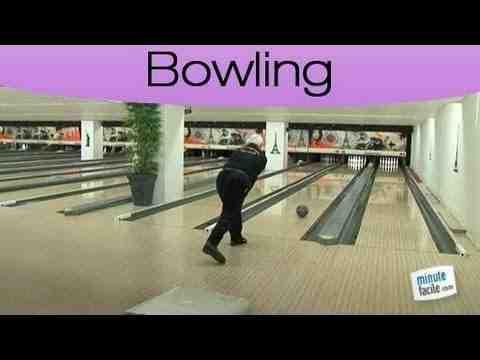 Comment frapper une piste de bowling?