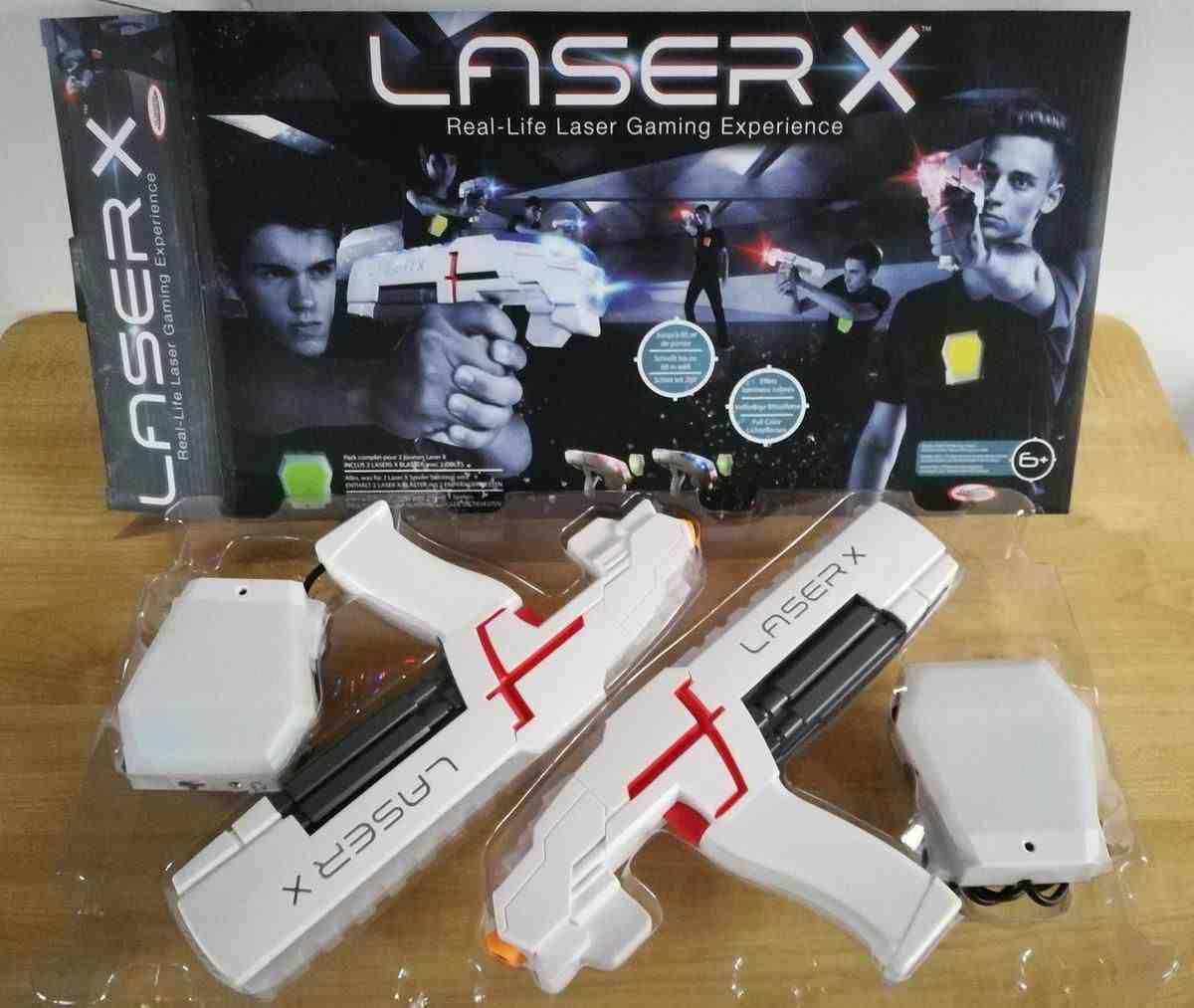 Comment jouez-vous au jeu laser?