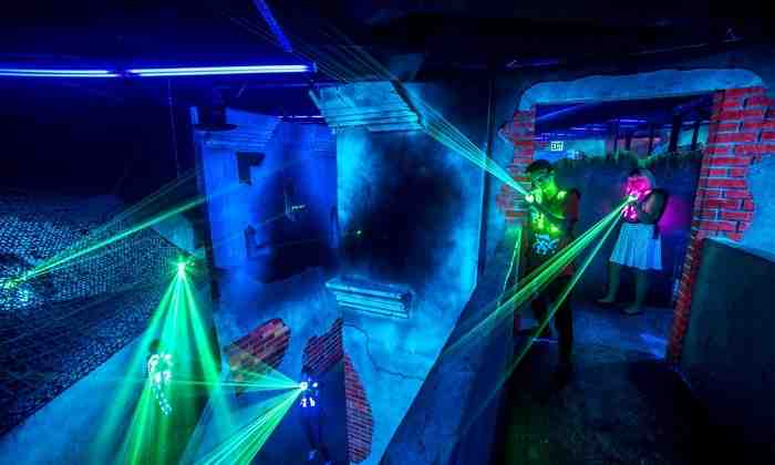 Quels sont les règles du laser game ?