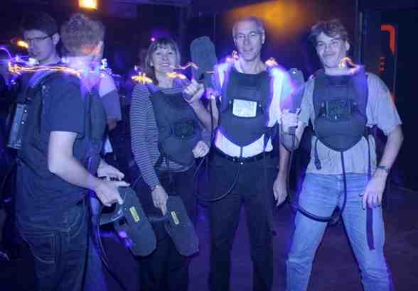 Quels vêtements pour un jeu laser?