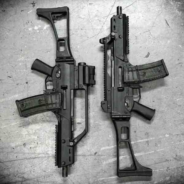 Qu'est-ce qu'un fusil d'assaut aéroporté?