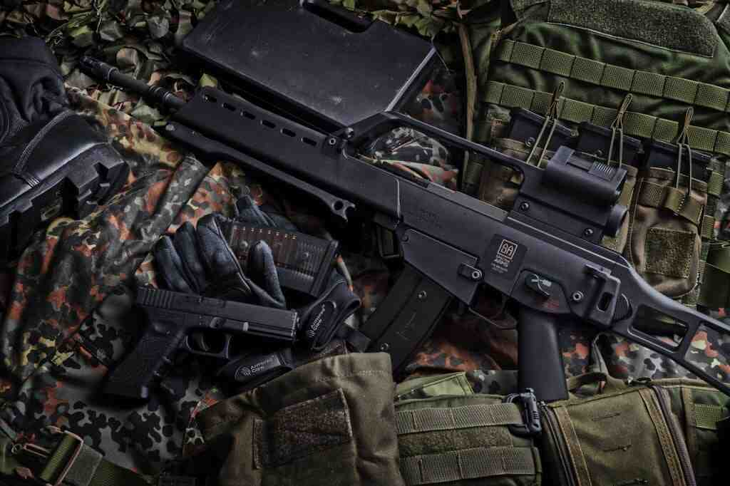 Quelle arme devrait lancer l'airsoft?
