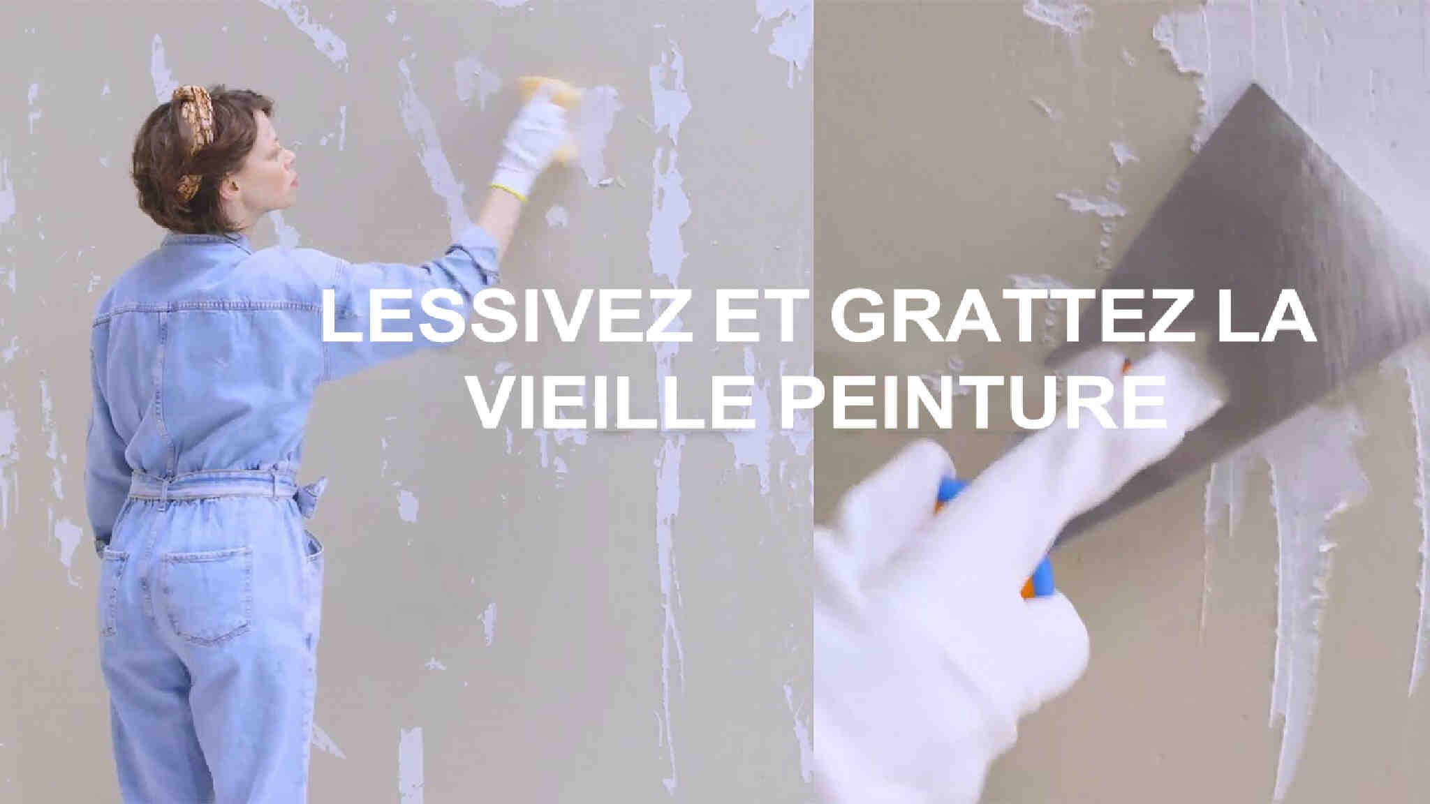 Comment enlever la peinture sèche?