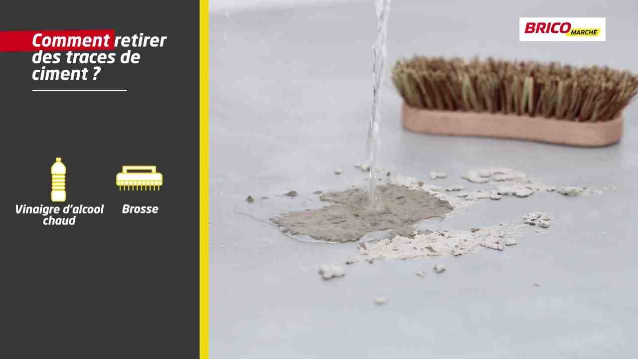 Comment nettoyer le lait des briques?